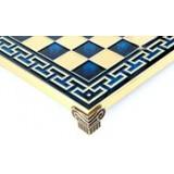 Синяя орнамент доска